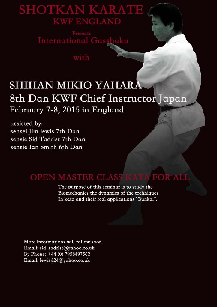 Yahara 2015 seminar